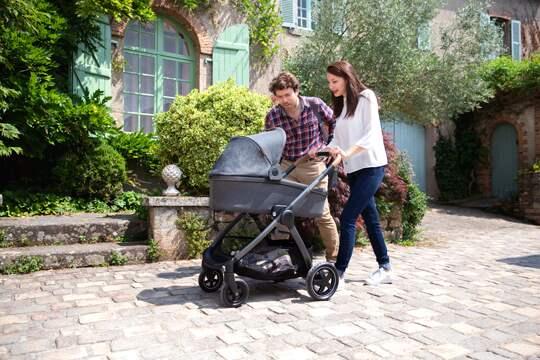 Barnvagnar från födseln